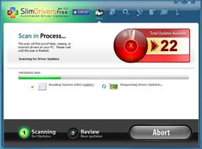 Screenshot af SlimDrivers Free