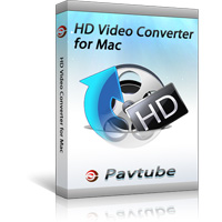 Pavtube HD Video Converter for Mac - Boxshot