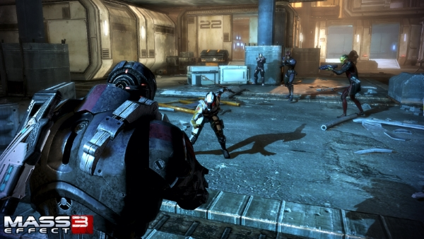 Screenshot af Mass Effect 3