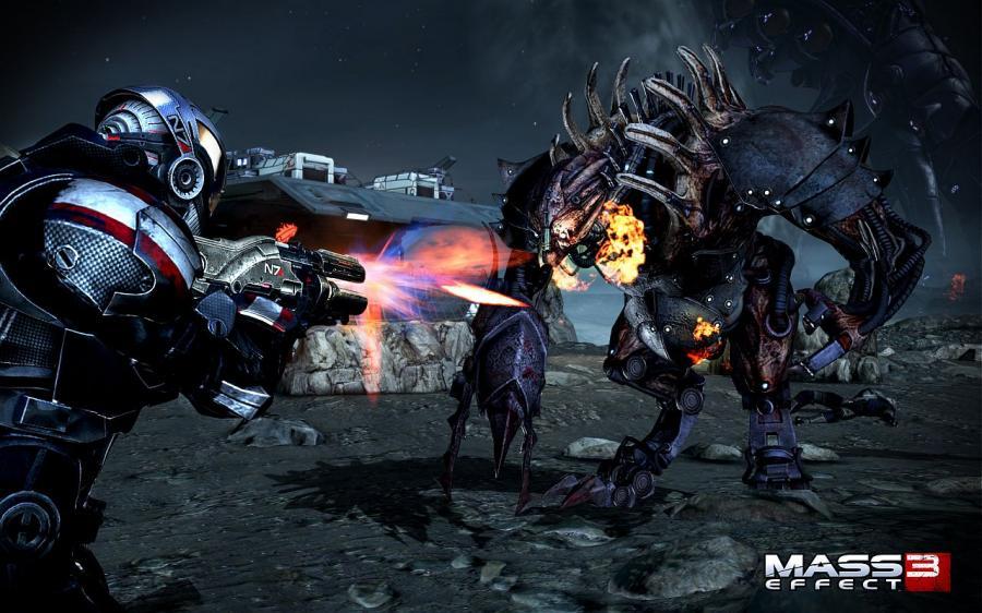 Screenshot af Mass Effect 3