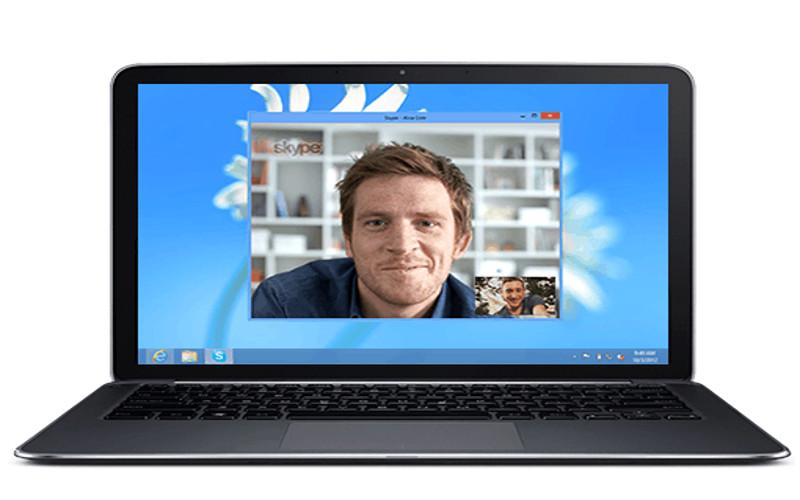 Screenshot af Skype til Mac