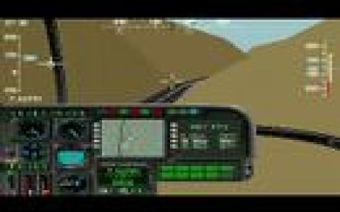 Screenshot af Gunship 2000