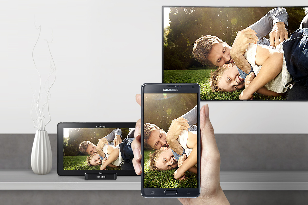 Screenshot af Samsung Link (AllShare (dansk))