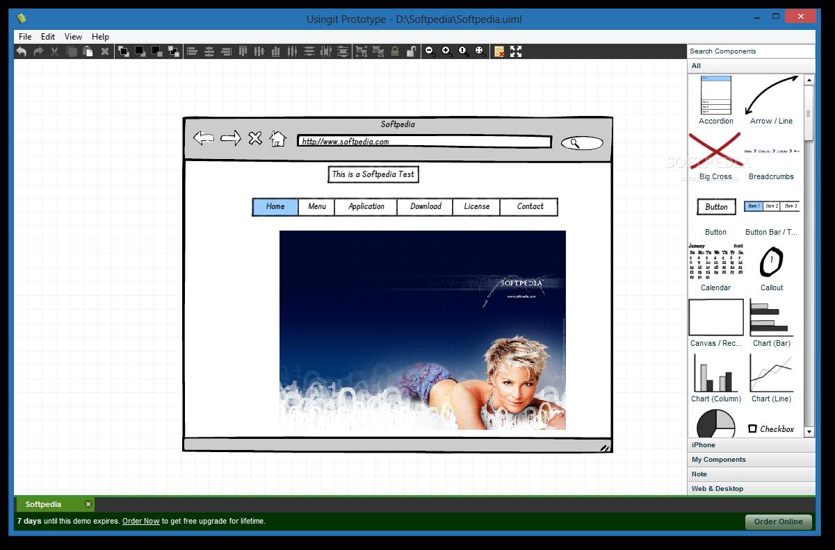 Screenshot af Usingit Prototype
