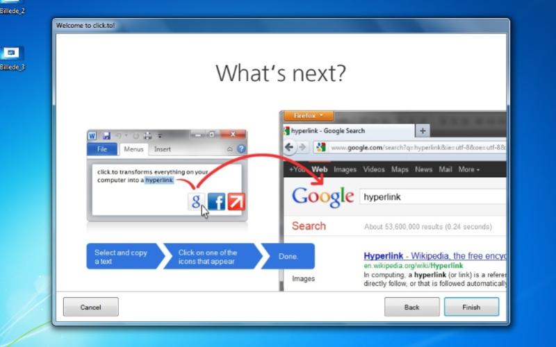 Screenshot af click.to