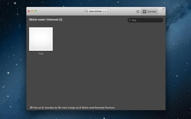 Screenshot af Skitch til Mac