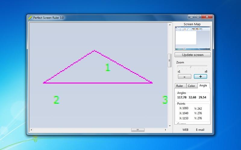 Screenshot af Perfect Screen Ruler