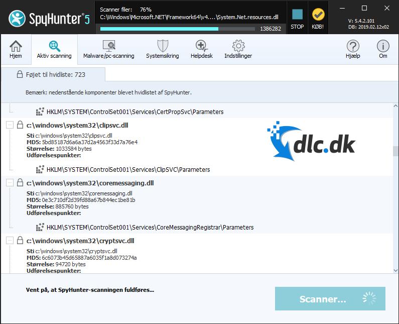 Screenshot af SpyHunter (Dansk)