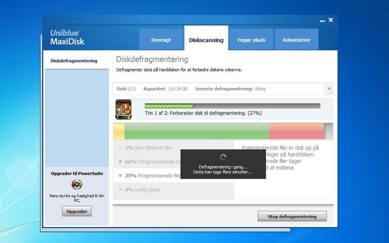 Screenshot af MaxiDisk (Dansk)