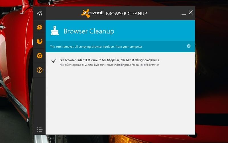 Download avast! Browser Cleanup (dansk) gratis her - DLC.dk