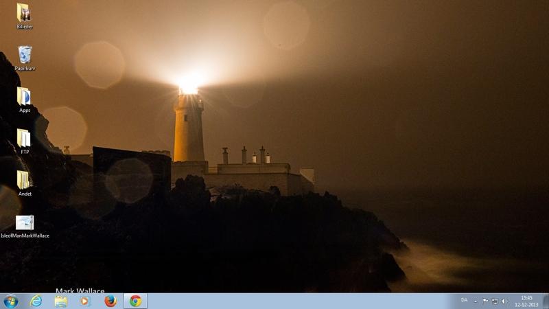 Screenshot af Isle of Man-tema