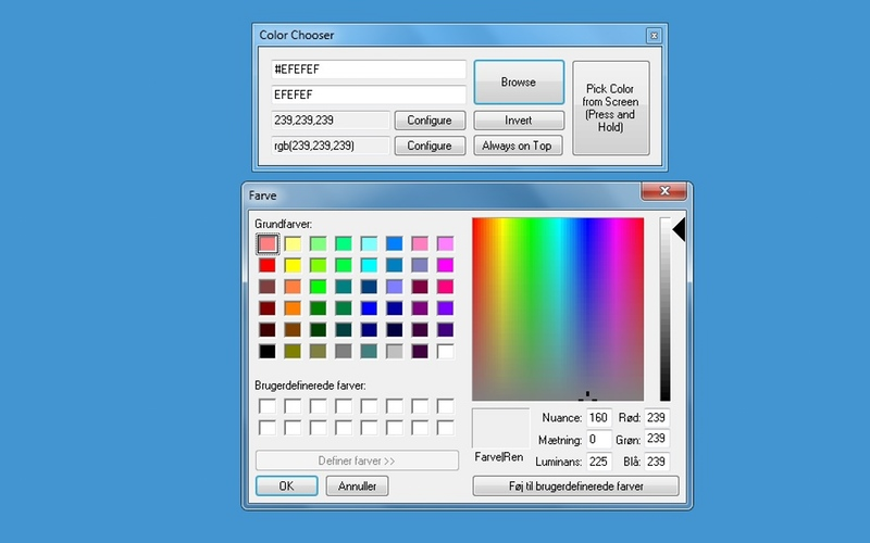 Screenshot af Color Picker