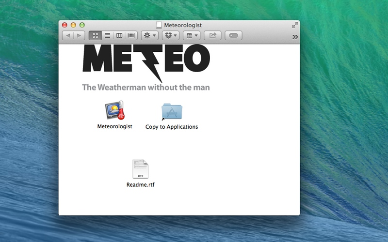 Screenshot af Meteorologist til Mac