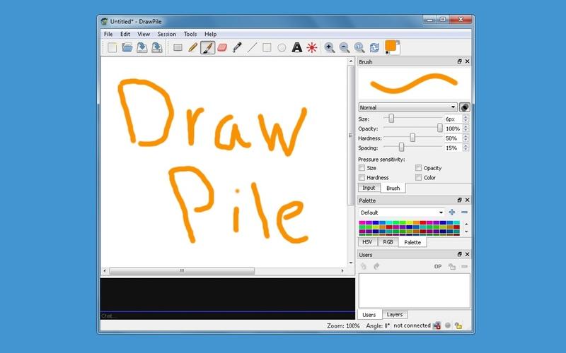 Screenshot af DrawPile