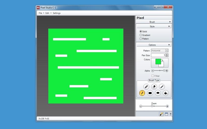 Screenshot af Pixel Studio C-1