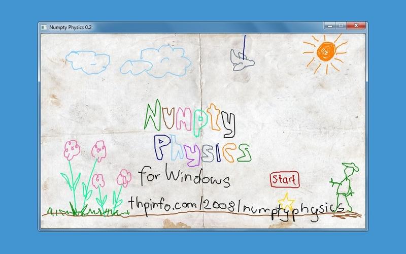 Screenshot af Numpty Physics