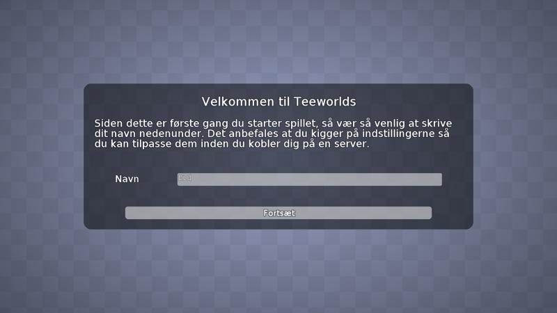 Screenshot af Teeworlds til Mac