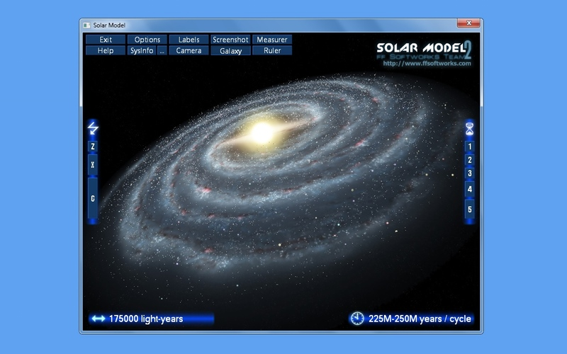 Screenshot af Solar Model