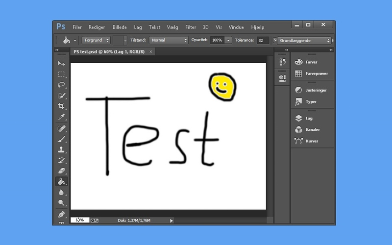 Screenshot af Paint.NET PSD Plugin