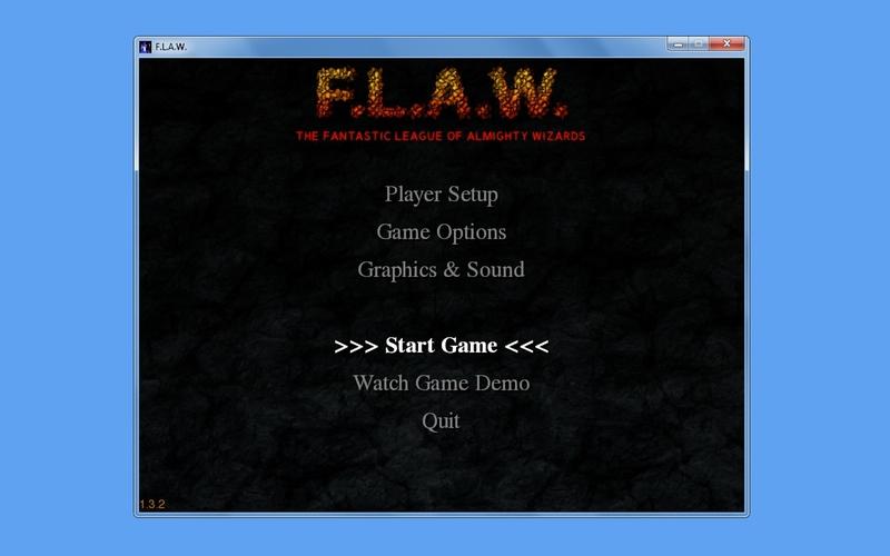 Screenshot af FLAW