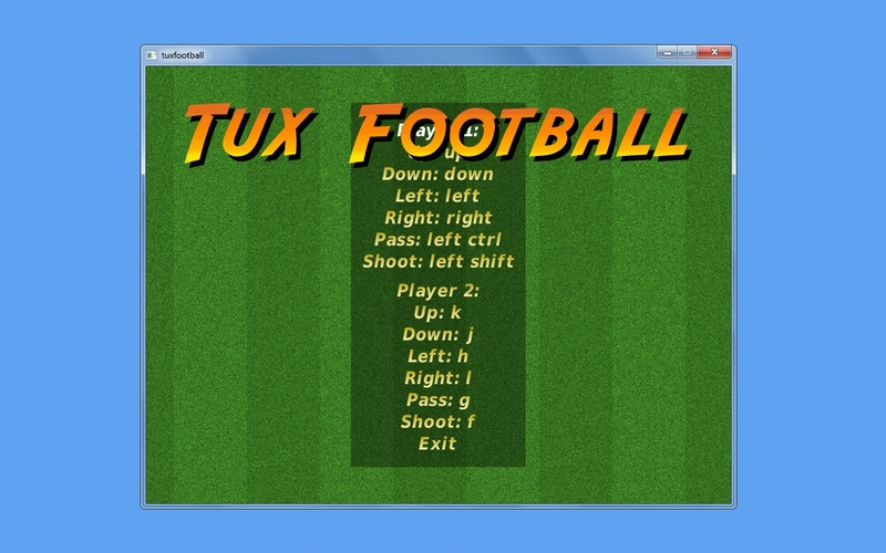 Screenshot af Tux Football