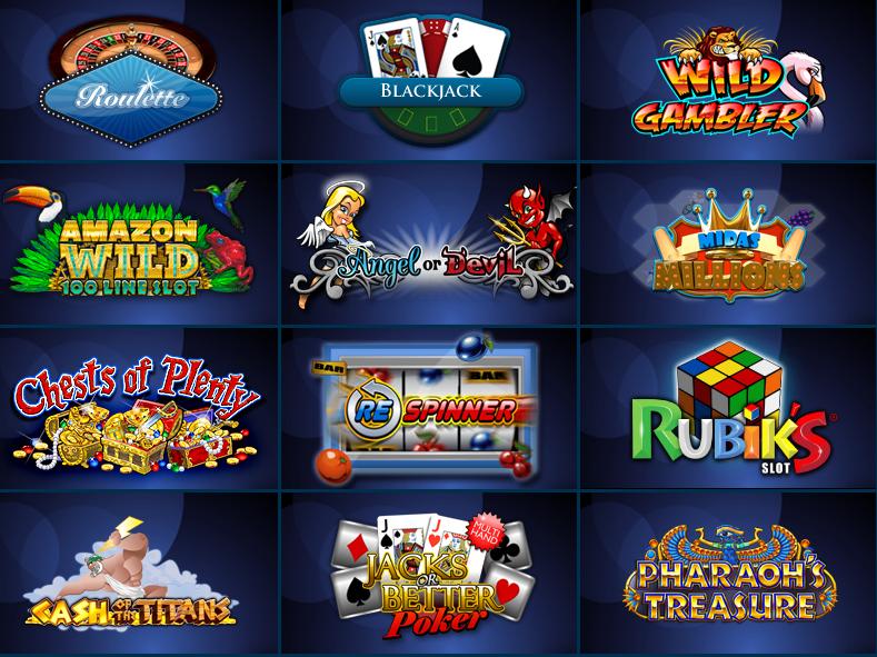 Screenshot af William Hill Casino Games