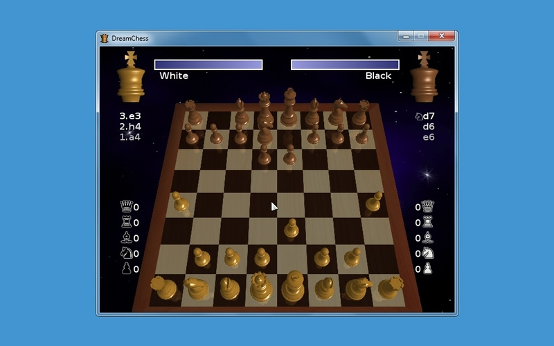 Screenshot af DreamChess til Mac