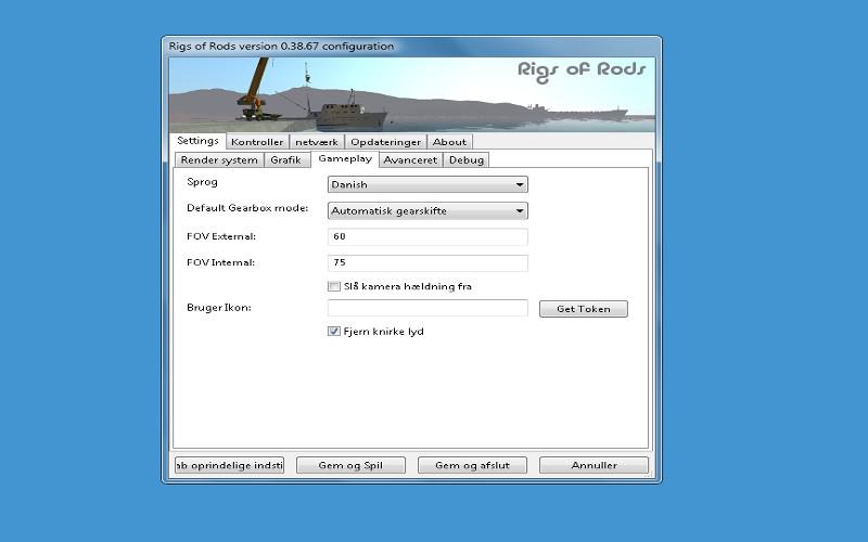 Screenshot af Rigs of Rods
