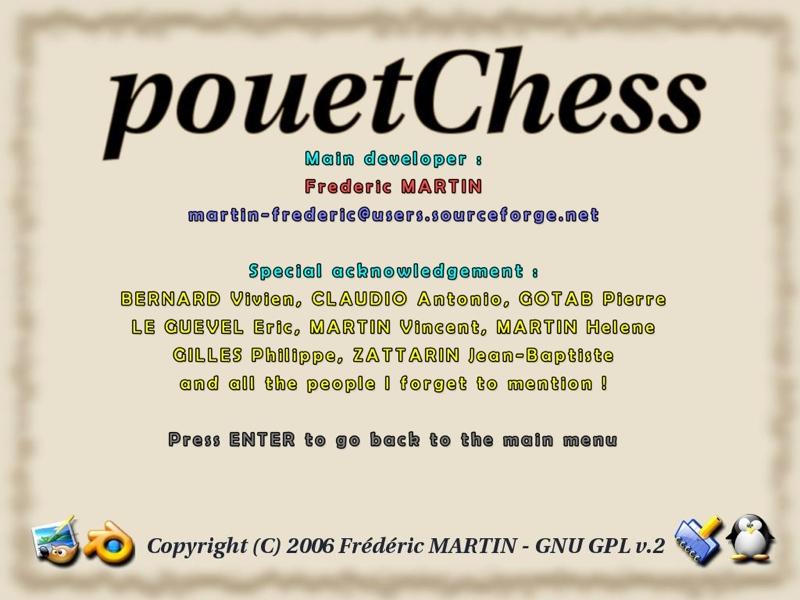 Screenshot af PouetChess