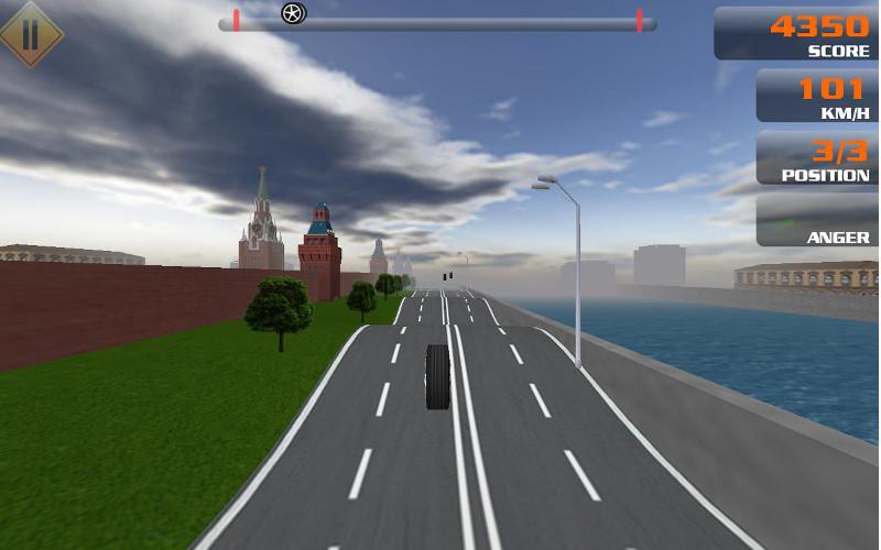 Screenshot af Gravitire 3D