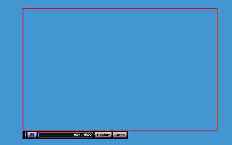 Screenshot af Screencast-O-Matic