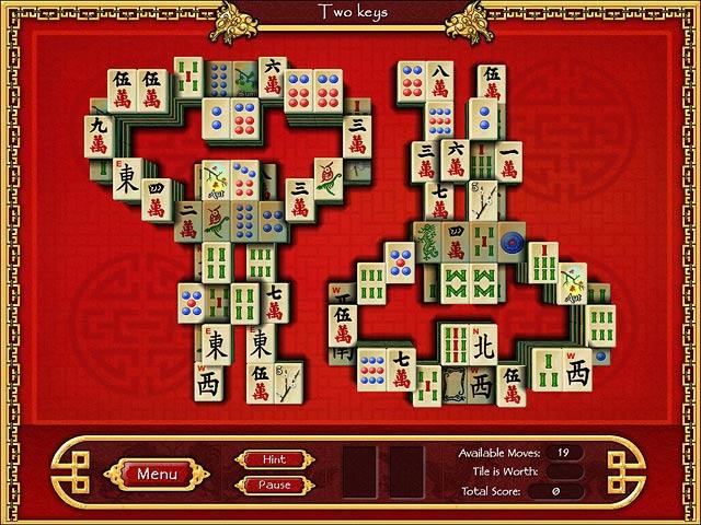 Screenshot af Mahjong World
