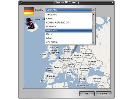 Screenshot af Real Hide IP