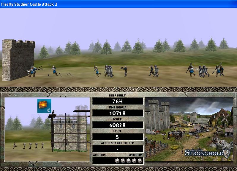 Screenshot af Castle Attack