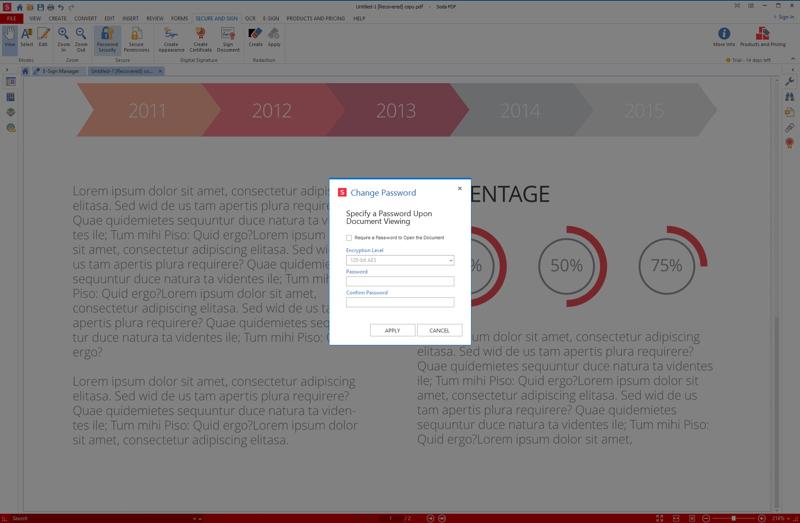 Screenshot af Soda PDF