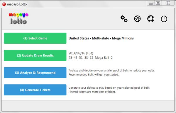 Screenshot af Magayo Lotto