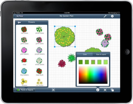 Screenshot af Garden Planner (Mac)