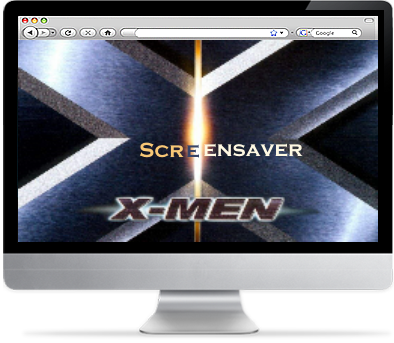 Screenshot af X-Men screensaver