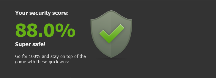 Screenshot af Dashlane (Mac)