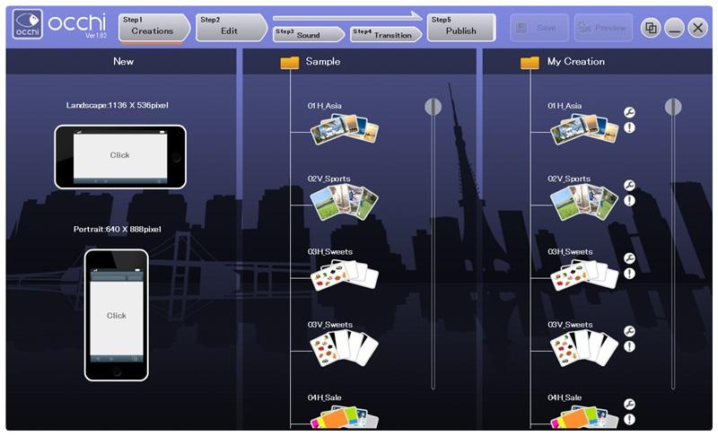 Screenshot af Occhi