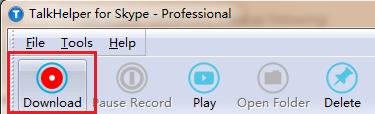Screenshot af TalkHelper