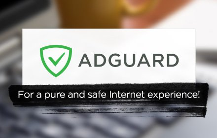 Screenshot af AdGuard adblocker