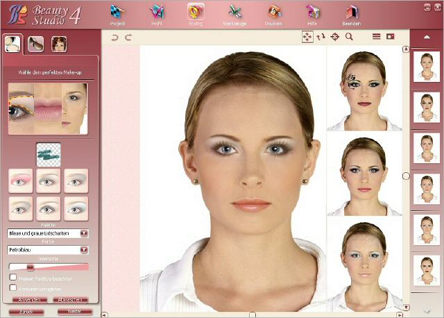 Screenshot af Make Up Styler 4