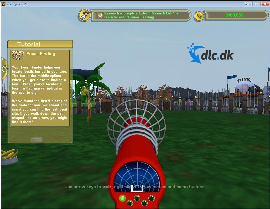 Screenshot af Zoo Tycoon