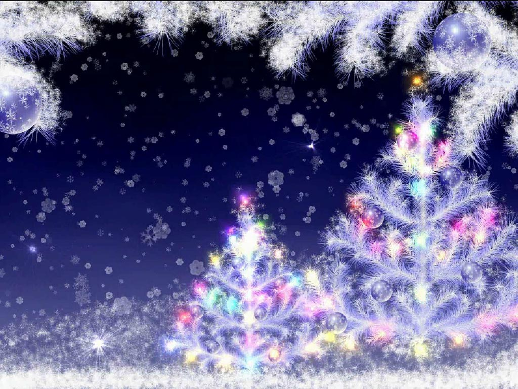 Screenshot af Falling Snow Screensaver