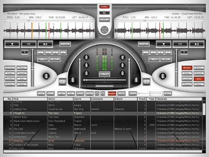 Screenshot af Future Decks DJ pro til Mac