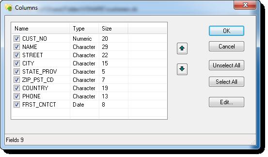 Screenshot af Advanced XLS Converter