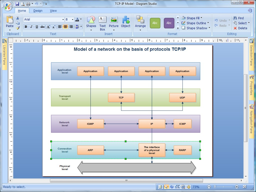 Screenshot af DiagramStudio