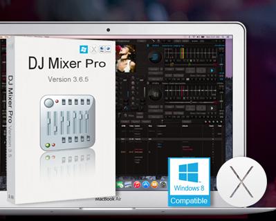 Screenshot af DJ Mixer Professional til Mac