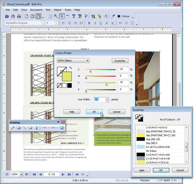 Screenshot af Infix PDF Editor